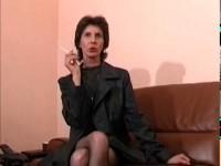 Femme mature dans un film xxx français